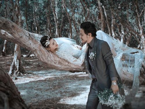 Ảnh cưới 'đẹp như phim Hàn' của người đẹp Trang Nhung - 12