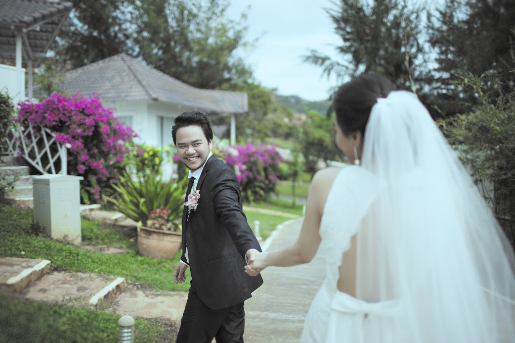 Ảnh cưới 'đẹp như phim Hàn' của người đẹp Trang Nhung - 5