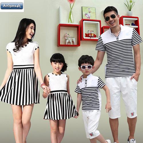 Những mẫu thời trang áo gia đình hot cho năm 2016 - 2