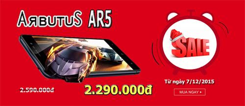 """Smartphone Arbutus AR5 công nghệ Nhật """"lên ngôi"""" nhờ giảm giá - 1"""