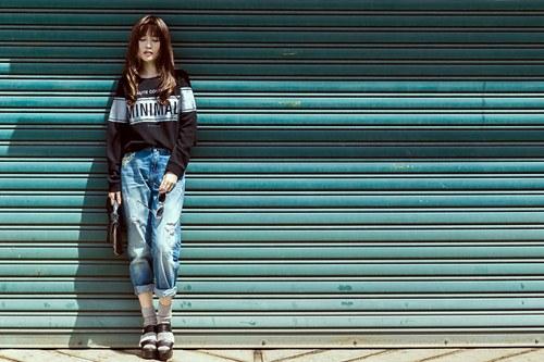 'Gái ế' Sĩ Thanh nổi loạn với street style xuống phố - 5