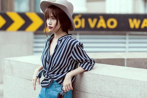 'Gái ế' Sĩ Thanh nổi loạn với street style xuống phố - 11