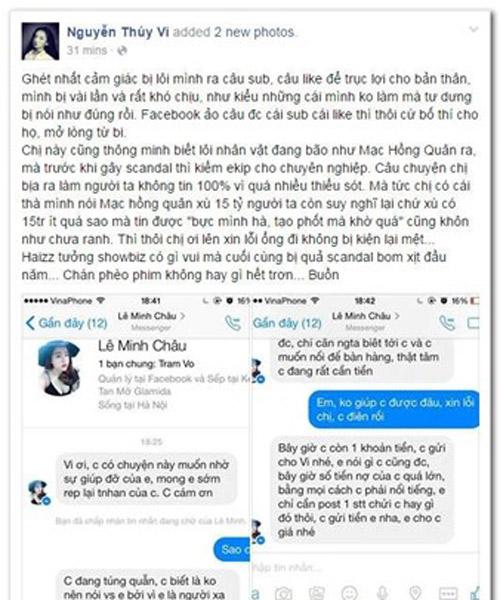 9x 'tố' Mạc Hồng Quân xù nợ 'gạ' Thúy Vi tạo scandal - 2