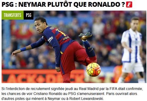 """Vỡ mộng với Ronaldo, PSG nhắm 5 """"sao bự"""" thay thế - 1"""