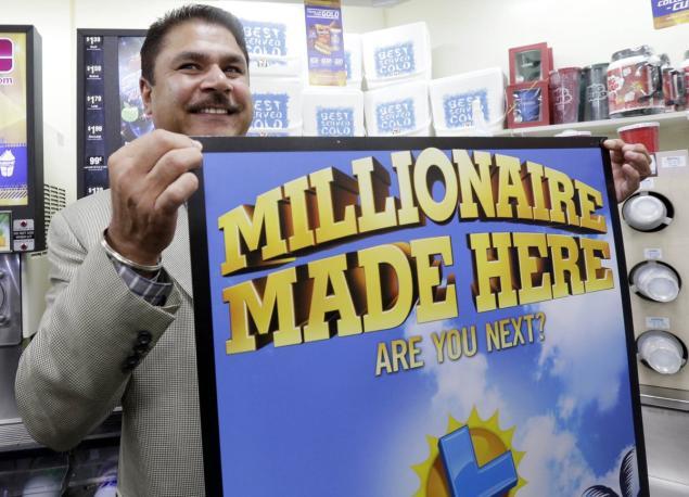 Mỹ thưởng 1 triệu USD người bán vé số độc đắc Powerball - 1