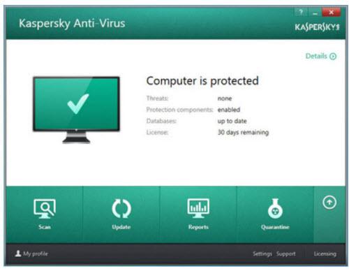 Bộ phần mềm diệt virus Kaspersky 2016 trình làng - 1