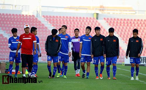 U23 Việt Nam lấy lại tinh thần sau trận thua Jordan - 4