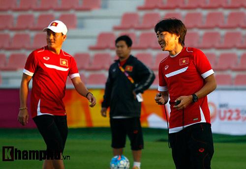 U23 Việt Nam lấy lại tinh thần sau trận thua Jordan - 7