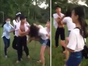 Xuất hiện thêm clip nam sinh đánh nữ sinh tại Huế