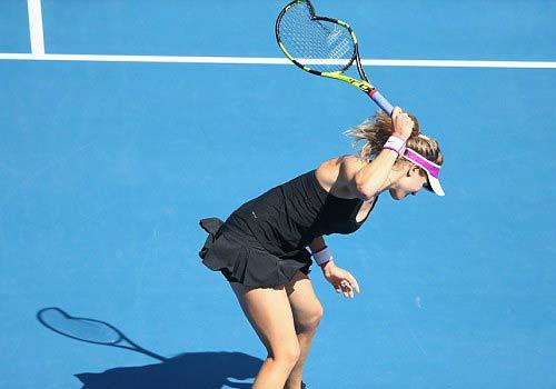 Hoa khôi tennis đập nát vợt trước Australian Open - 1
