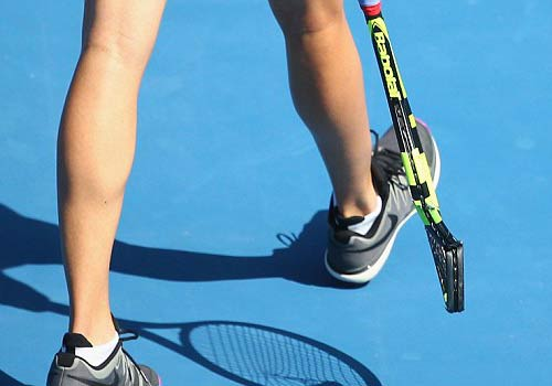 Hoa khôi tennis đập nát vợt trước Australian Open - 2