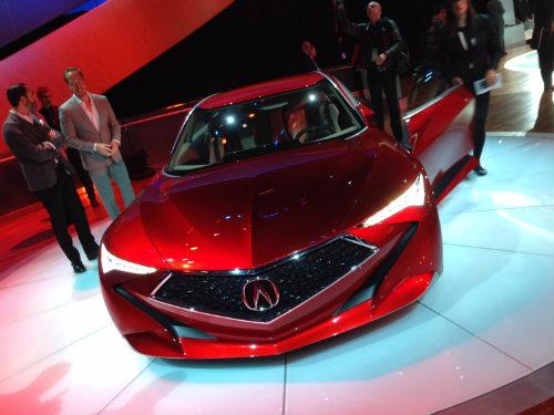 Đánh giá Acura Precision có lưới tản nhiệt kim cương - 2