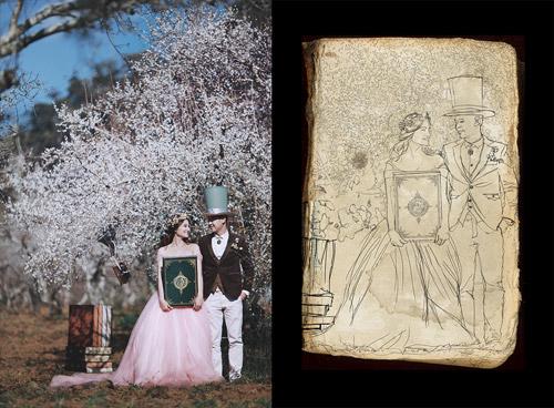 Bộ ảnh cưới ở 'xứ sở thần tiên' của cặp đôi Hà thành - 2
