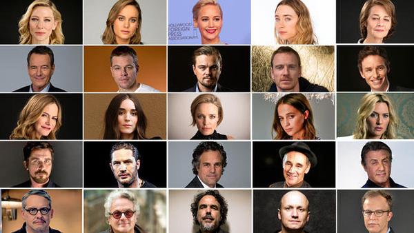 Đề cử Oscar 2016: Quá già, quá trắng và toàn đàn ông - 2