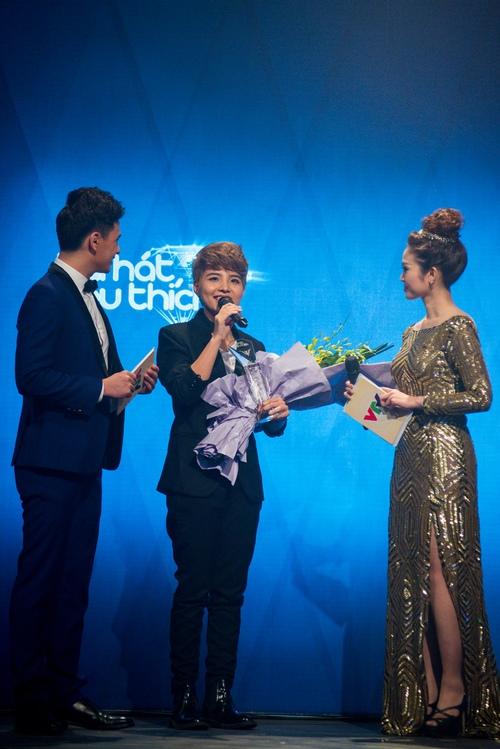 Hòai Lâm giành giải 1 tỷ đồng tại Bài hát yêu thích - 3