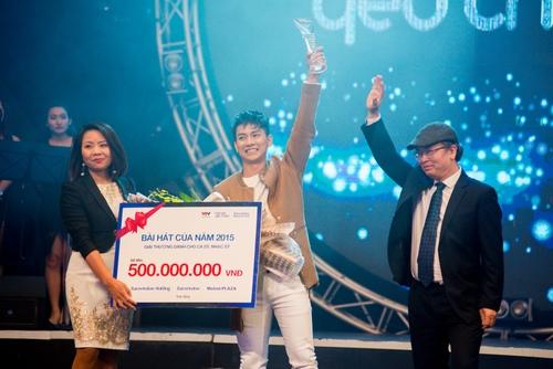 Hòai Lâm giành giải 1 tỷ đồng tại Bài hát yêu thích - 1