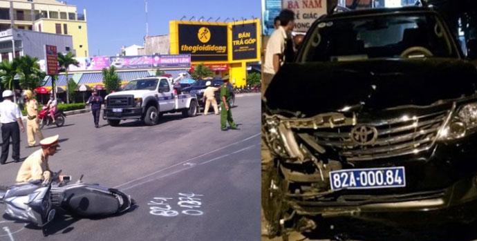 Đề nghị truy tố Viện trưởng VKS gây tai nạn liên hoàn - 1