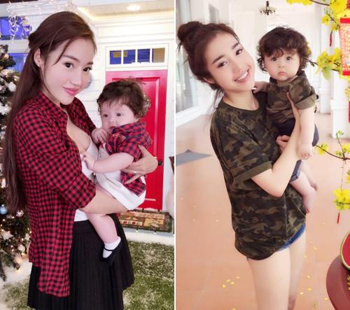 Bộ sưu tập đồ đôi mẹ - con cực 'chất' của Elly Trần - 13