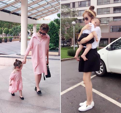 Bộ sưu tập đồ đôi mẹ - con cực 'chất' của Elly Trần - 10