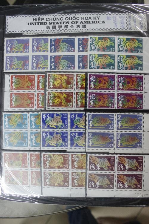 """Cụ ông U80 sở hữu bộ tem tất niên """"độc"""" của hơn 100 quốc gia - 6"""