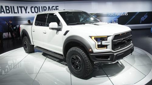 """""""Quái vật"""" Ford F150 Raptor thế hệ mới trình diện - 1"""