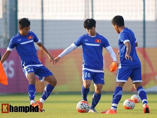 """U23 Việt Nam: Công Phượng, Xuân Trường luyện """"chiêu hiểm"""" - 8"""