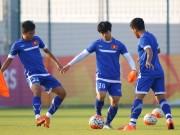 """Bóng đá - U23 Việt Nam: Công Phượng, Xuân Trường luyện """"chiêu hiểm"""""""
