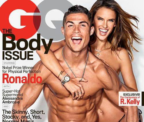 Ronaldo nóng bỏng cùng thiên thần Victoria Secret - 1