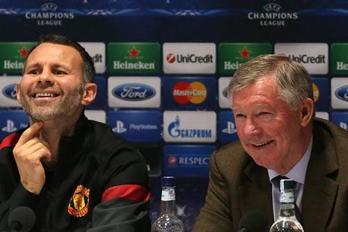 Giggs thay Van Gaal, Sir Alex sẽ là trợ lý đặc biệt - 1