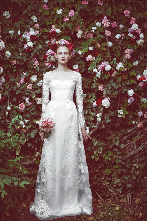 10 mẫu váy biến cô dâu thành nữ hoàng trong ngày cưới - 2