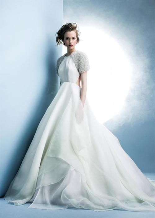 10 mẫu váy biến cô dâu thành nữ hoàng trong ngày cưới - 6