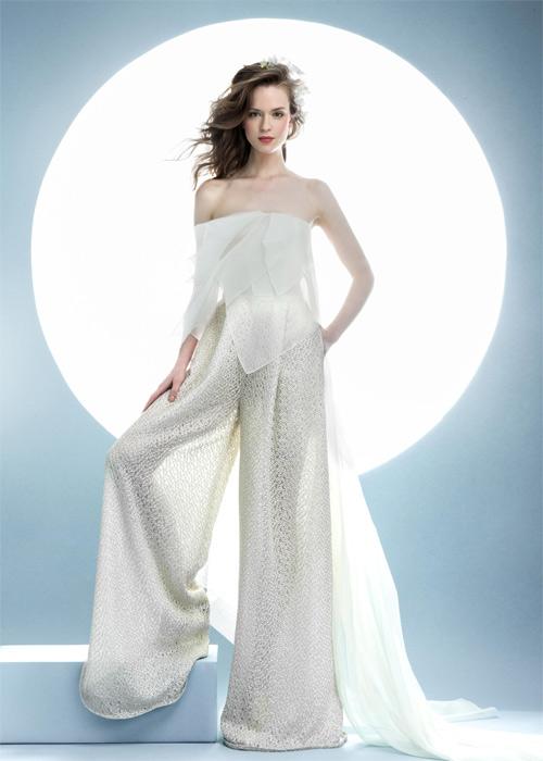 10 mẫu váy biến cô dâu thành nữ hoàng trong ngày cưới - 11