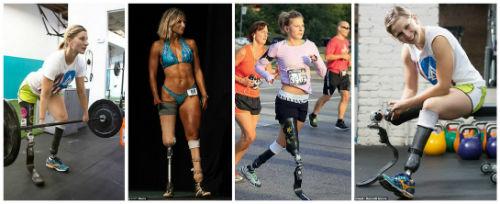 Cô gái không chân và sự kỳ diệu của thể thao - 1