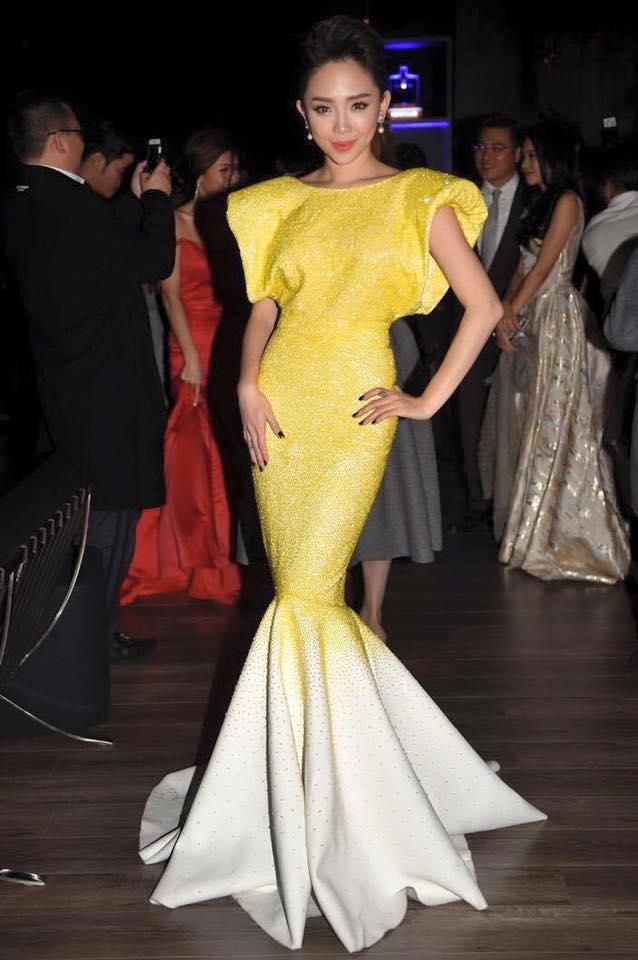 Váy hot nhất tuần: Đầm Tóc Tiên mặc khi gặp Beckham - 3