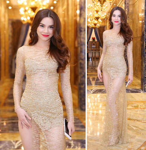Váy áo 'hở mà không hư' của mỹ nhân Việt - 5