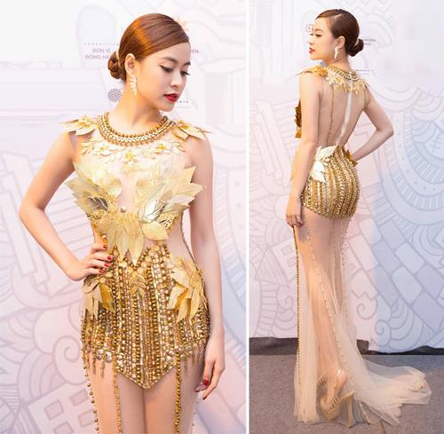 Váy áo 'hở mà không hư' của mỹ nhân Việt - 6