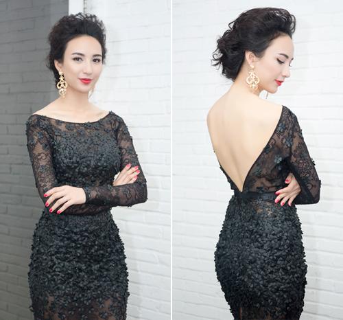 Váy áo 'hở mà không hư' của mỹ nhân Việt - 12