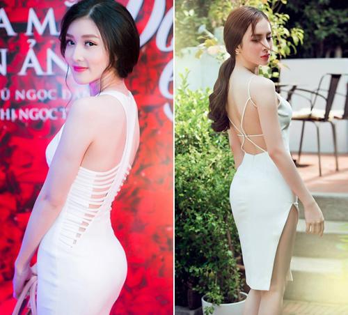 Váy áo 'hở mà không hư' của mỹ nhân Việt - 14