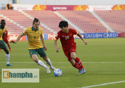 video U23 Việt Nam vs U23 Australia - 1