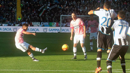Udinese - Juventus: Phô trương thanh thế - 3