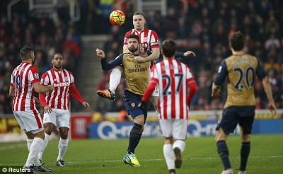 Chi tiết Stoke – Arsenal: Bế tắc vẫn hoàn bế tắc (KT) - 3