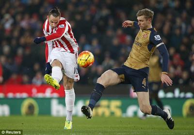 Chi tiết Stoke – Arsenal: Bế tắc vẫn hoàn bế tắc (KT) - 4