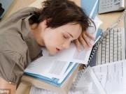 """Sức khỏe đời sống - Cách thức giúp """"chiến thắng"""" cơn buồn ngủ trong giờ làm"""