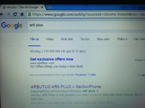 Arbutus AR6 Plus – Phablet Nhật gây sốt cộng đồng mạng giá chưa đến 2,2 triệu - 1