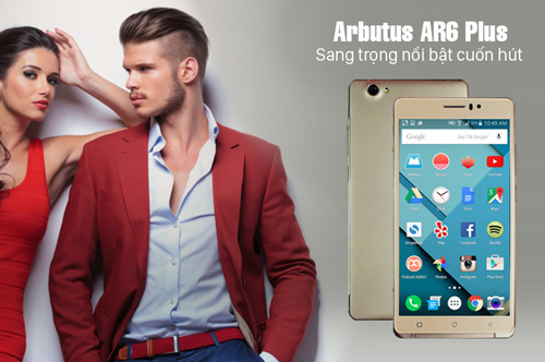 Arbutus AR6 Plus – Phablet Nhật gây sốt cộng đồng mạng giá chưa đến 2,2 triệu - 2