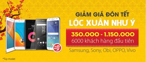 Giảm giá đón Tết cùng Obi, Samsung, Sony, Vivo - 1
