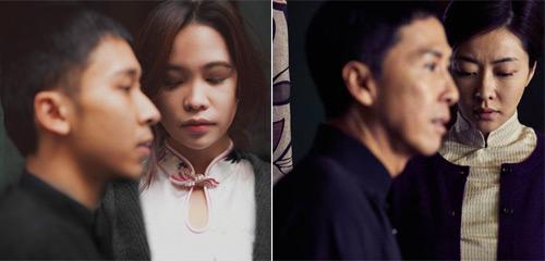 'Vợ chồng Diệp Vấn' ngao du trên phố Hà Nội - 4