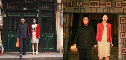 'Vợ chồng Diệp Vấn' ngao du trên phố Hà Nội - 6