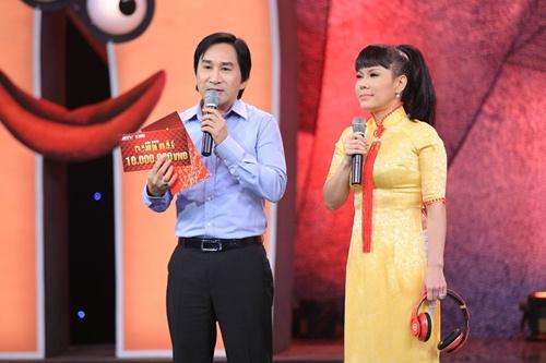 Kim Tử Long bối rối trước động tác hình thể của Việt Hương - 3