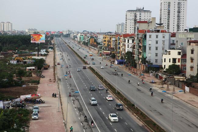 Cận cảnh đường 6.000 tỷ nối Cầu Giấy-Nhật Tân ở Hà Nội - 2
